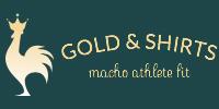 マッチョなアスリートをかっこよくおしゃれに魅せるgold & shirts